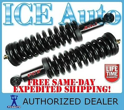 FCS Complete Loaded Front Struts & Spring Assembly for 04-07 NISSAN TITAN RWD