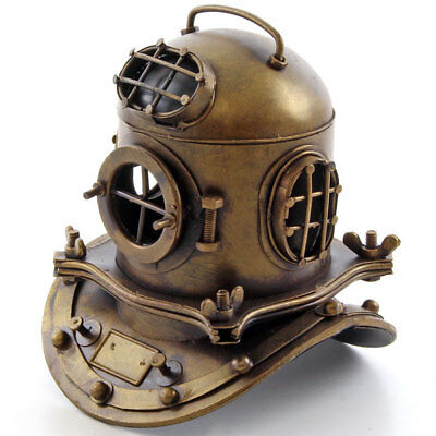 Marine Us-Navy Diving Helmet Taucherhelm Tiefseetaucher Helm Nautical Dekoration