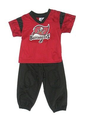 6b01f2e99 NFL Infant Tampa Bay Buccaneers Outfit 12-18 Months Boys Nylon Sweatsuit  Baby