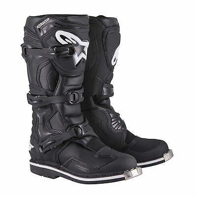 Alpinestars 2017 Tech 1 Boots Black Motocross Mx Off Road Cheap Quad Atv Sale