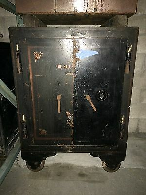 Old Safe Antique Gun Safe Vault Heavy Large Big