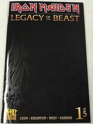 Iron Maiden #1 NM SDCC 2017 Legacy of the Beast Retailer Variant__500 Made__NM