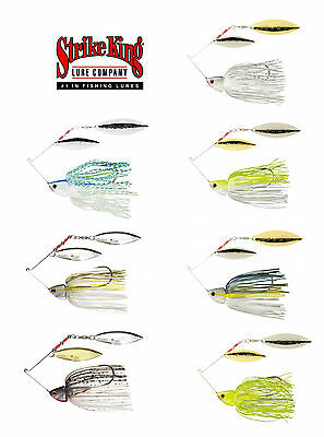 Strike King Burner Spinnerbaits 1/2 Oz. Bass Fishing Spinnerbait Lure