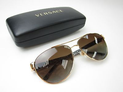 Made in Italy! Versace MOD2145 1002/T5 Polarized Women's Sunglasses /NAA813