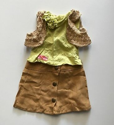 "New 18"" Our Generation Doll Skirt Top Jacket American Girl Journey Girl"