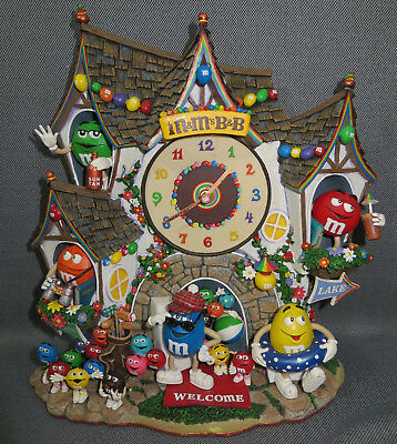 M&M's Danbury Mint M&M Clock B&B