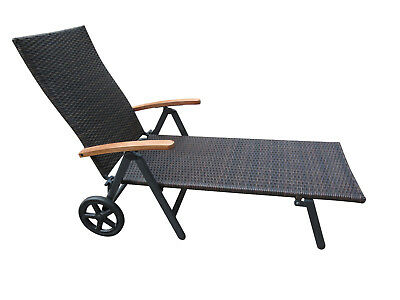 polyrattan sonnenliege gartenliege malibu liege liegestuhl rattanliege garten eur 99 95. Black Bedroom Furniture Sets. Home Design Ideas