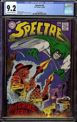 Spectre # 6 CGC 9.2 OW/W (Marvel 1968) Murphy Anderson cover
