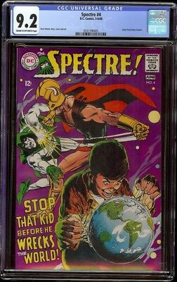 Spectre # 4 CGC 9.2 CRM/OW (Marvel 1968) Neal Adams cover