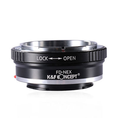 K&F Concept FD-NEX Lens Adapter Ring for Canon FD Mount Lens to Sony NEX E Mount