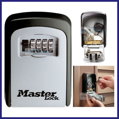 master lock wall mounted key safe instructions
