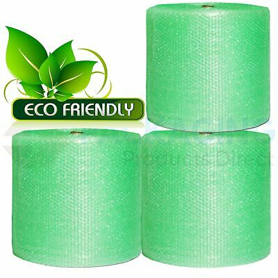 Jiffy Green Bubble Wrap RECYCLABLE Eco-Friendly Bubble Wrap Rolls 500mm/750mm