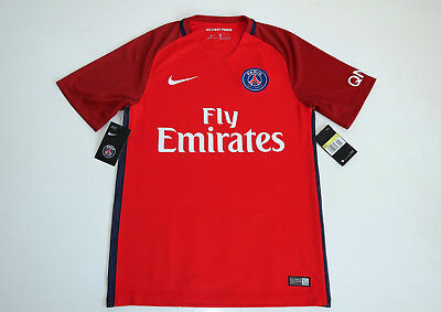 Paris Saint Germain PSG 2016 – 2017 Away Nike Shirt size Small S New with tags