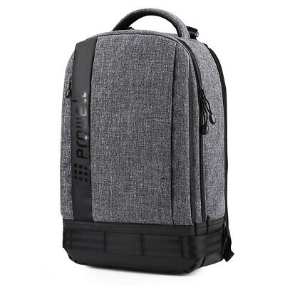 PROWELL DC22095 Professional Waterproof DSLR Camera Photography Backpack Bag