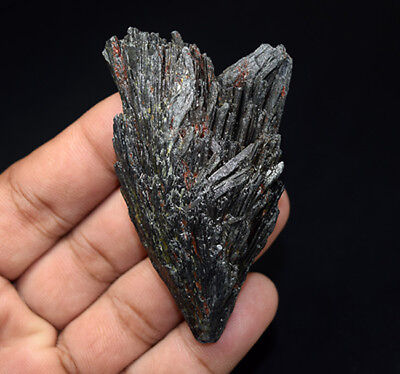 230.35 Cts. 100 % Natural Black Kyanite Rough 72*42*16 mm Fancy Mineral Gemstone