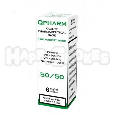 Qpharm Base 50/50 10ml 18MG