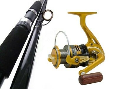 SAMBO 4.6m 15kg 3pce Big Beach Surf Spinning Fishing Rod and Reel Combo Salmon