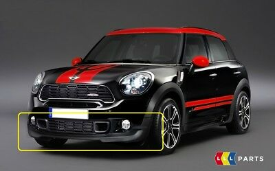 Mini New Genuine R60 Jcw Aero Package Front Lower Spoiler With Adapters Set Kit