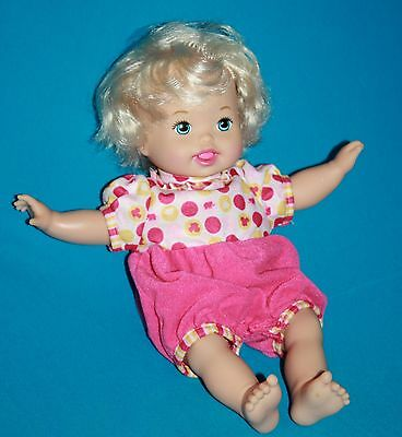 LITTLE MOMMY LAUGH and LOVE Baby Doll Mattel 2012 Talks Head Arms Move