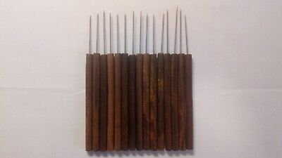 Wooden handled Pottery tools
