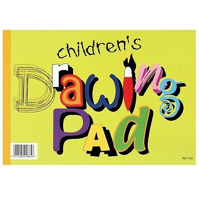 Silvine Children's Drawing Sketch Pad 20 Pages Kids A4 Paper Arts & Crafts Book