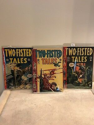 "EC Comic ""Two-Fisted Tales"" #33, #40, #41"