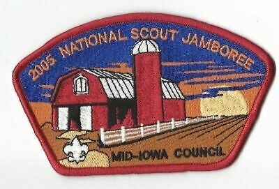 2005 National Scout Jamboree Mid-Iowa Council JSP Red Bdr. [MK2791]