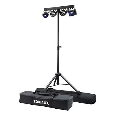Equinox Microbar Multi System All-in-One T-bar LED DJ Disco Lighting Kit