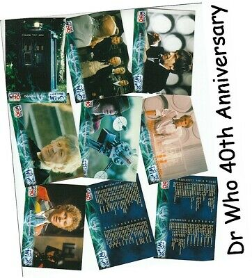 Doctor Who 40th Anniversary - 100 Karte Basis / Basisset - Dr Who - Strikt 2003