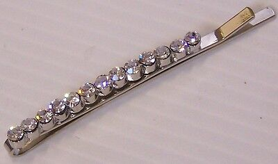 Beautiful Bobby-Pin Diamante Crystal Formal Wedding Rhinestone Bridal Hair-Clip