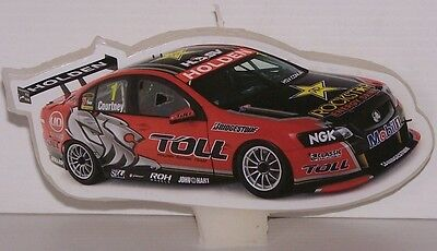 Holden Racing Team Birthday Cake Candle Flat Car Hrt Official Merchandise Gift