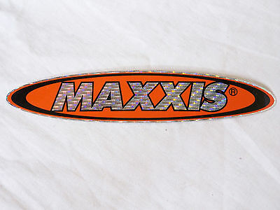 Vintage Nos Maxxis Tyres Promo Sticker Bicycle Bike Retro Merchandise