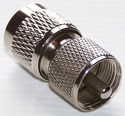 N-TYPE MALE to PL259 MALE ADAPTOR PLUG UHF CONNECTOR HAM CB SO239 ADAPTER