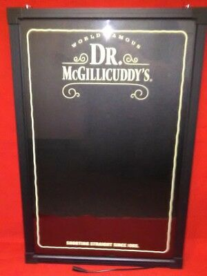 "Dr McGillicuddy's Liqueur ""Best Tasting Shot Ever"" LED Writing Board 24x16 - New"