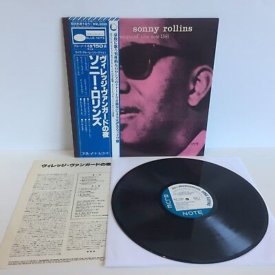 Sonny Rollins - A Night at the Village Vanguard | JAPAN PRESSUNG | LP: Near Mint