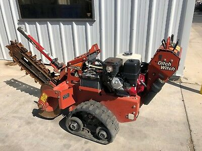 """2015 Ditch Witch RT16 14HP 36"""" Walk Behind Tracked Trencher"""