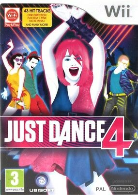 Nintendo Wii game - Just Dance 4 (UK) (boxed)
