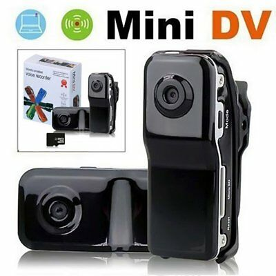 Mini Hidden DV Webcam Small Pocket Camcorder Sports DVR Video Camera Spy MD80