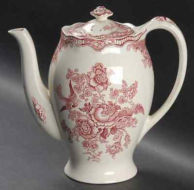 Crown Ducal BRISTOL PINK Coffee Pot 91657