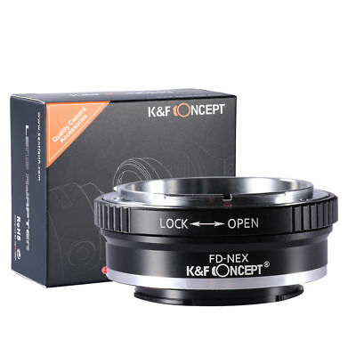 K&F Concept FD-NEX Lens Adapter Ring for Canon FD Mount Lens to Sony E Mount