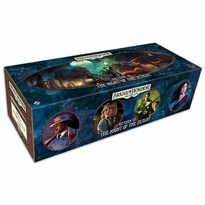 PREORDER Arkham Horror LCG Return to the Night of the Zealot Card Game