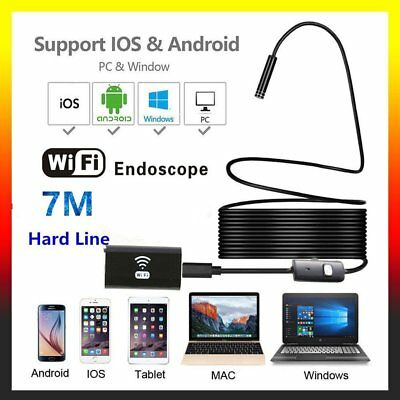 WiFi Endoskop Wasserdicht USB Endoscope Inspektion Kamera für iPhone Android PC!