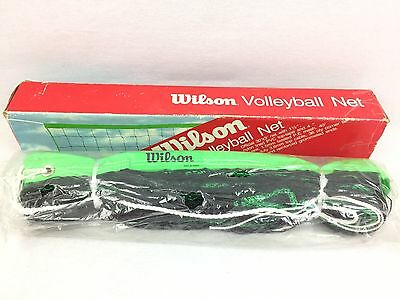 Vintage New Wilson Official Volleyball Net 30' Ft Korea #2701