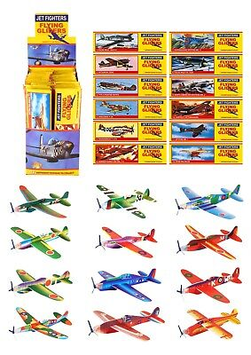 Flying Gliders, Boys Party Loot Bag Fillers, Kids Toy Planes 3, 6, 12, 24