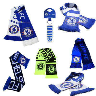 Chelsea Scarf - Supporter Soccer Club Gift Scarves Official Football Team