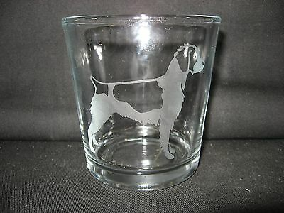 New Etched Brittany Old-Fashioned Rocks Glass Tumbler
