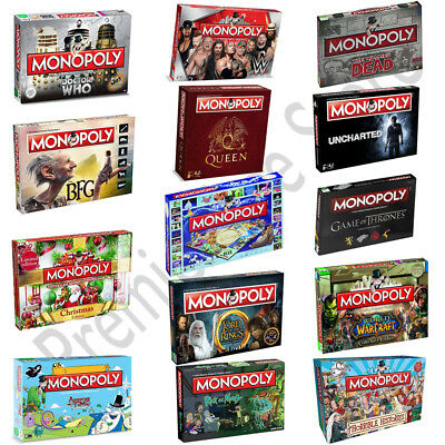 Monopoly Board Game Special Edition Gift - 2019 Full Range by Winning Moves