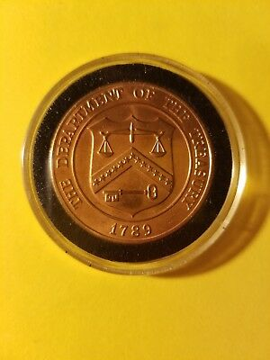 Department of the Treasury 1789 United States Mint Denver Colorado Token US Coin