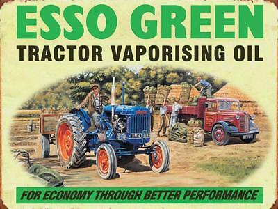 Esso Green  metal wall sign 300 x 400 mm