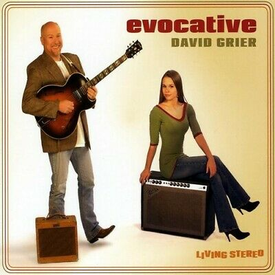 Evocative - David Grier (2009, CD NEUF)